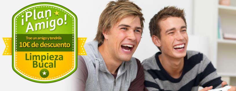 Plan Amigo: Trae un amigo y ambos tendréis 10€ de descuento en Higiene Bucal